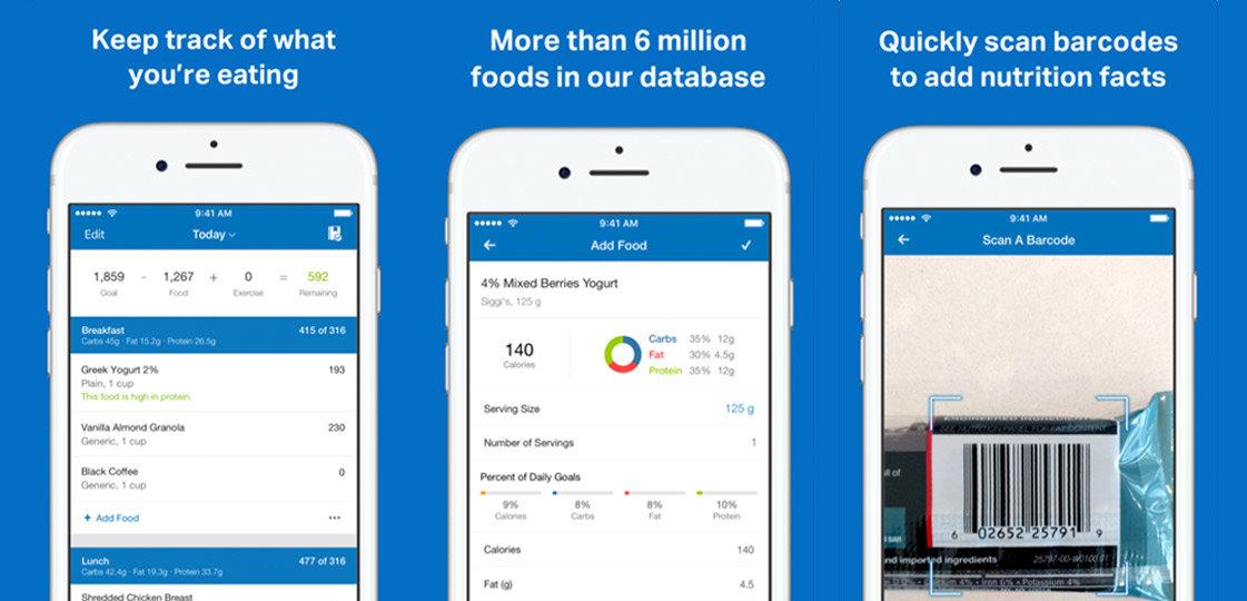 MyFitnessPal App Review | FitMinutes.com