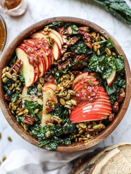 Fall Salads To Bring To Work | FitMinutes.com/Blog