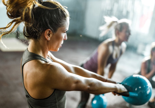 Best Booty-Blasting Kettlebell Workouts   FitMinutes.com