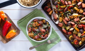 9 Easy and Healthy Weeknight Dinner Recipes | FitMinutes.com/Blog