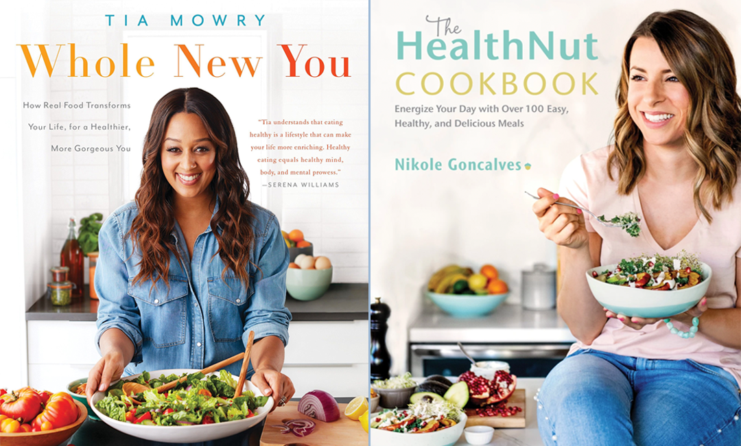 Healthy Cookbooks for National Book Lovers Day | FitMimutes.com