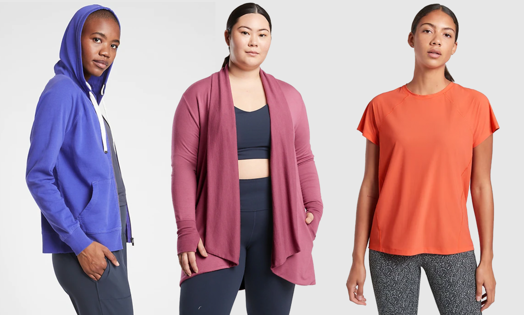 Colorful and Cute Workout Clothes from Athleta | FitMinutes.com