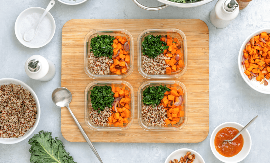 Easy Plant-Based Meal Prep Recipes   FitMinutes.com