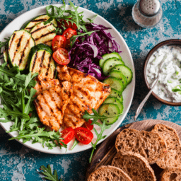 Easy Mediterranean Diet Recipes | FitMinutes.com