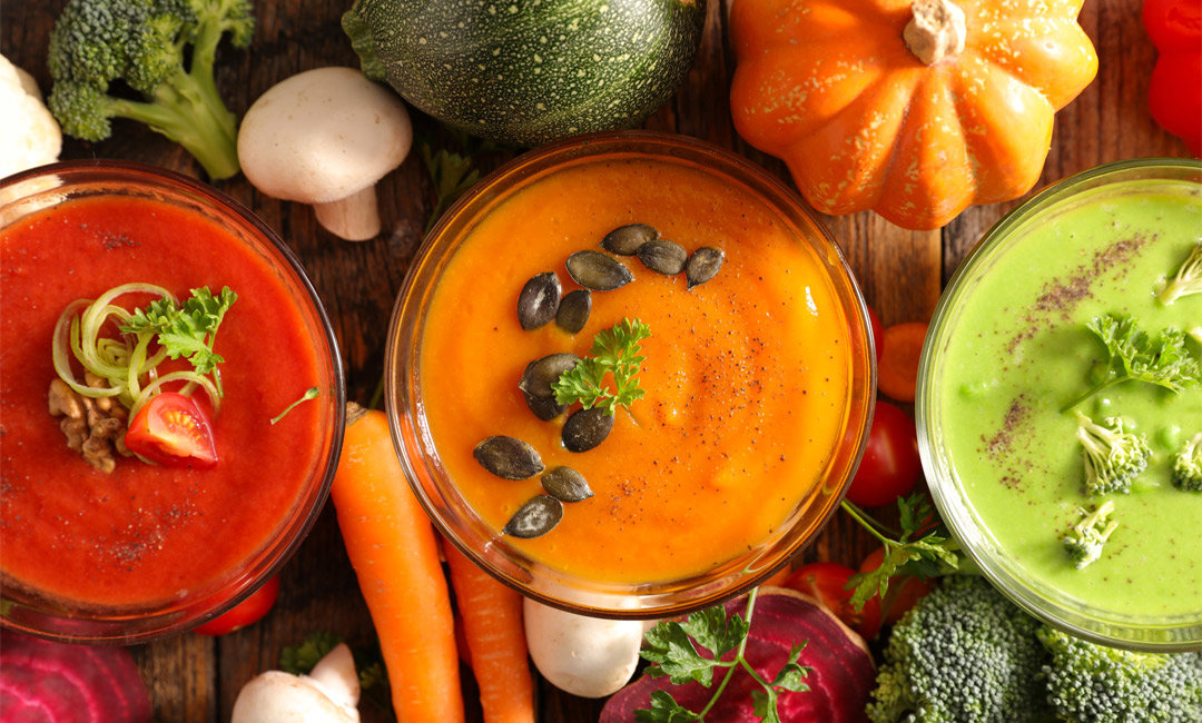 5 Healthy Winter Soups | FitMinutes.com